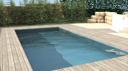 Plan 3D Taluyers jardin, paysagiste, piscine